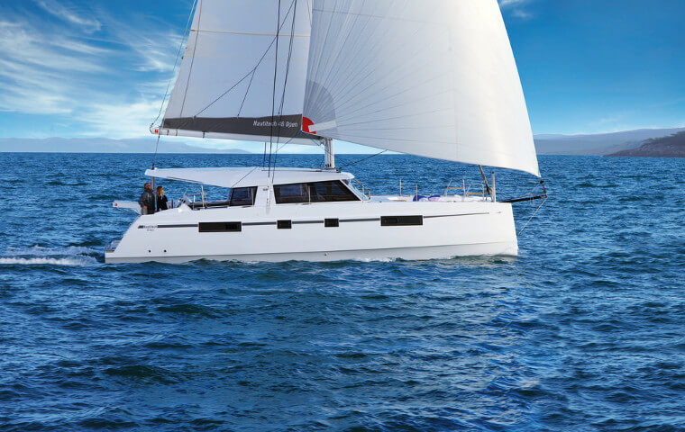 New Sail Catamaran for Sale  Nautitech 46 Open Boat Highlights
