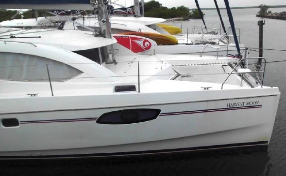 Used Sail Catamarans for Sale 2014 Leopard 39 Boat Highlights