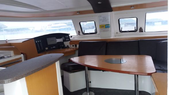 Preowned Sail Catamarans for Sale 2011 Lipari 41 Layout & Accommodations