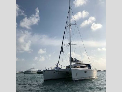 Used Sail Catamaran for Sale 2007 Eleuthera