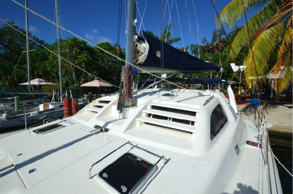 Used Sail Catamarans for Sale 2003 Leopard 38 Deck & Equipment