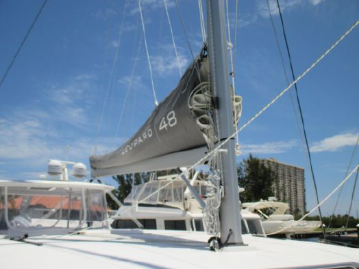 Preowned Sail Catamarans for Sale 2017 Leopard 48 Sails & Rigging