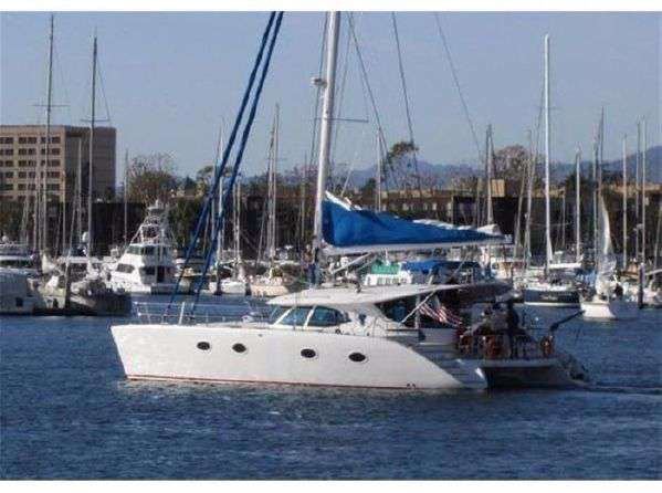 Preowned Sail Catamarans for Sale 2011 Prout 50S Boat Highlights