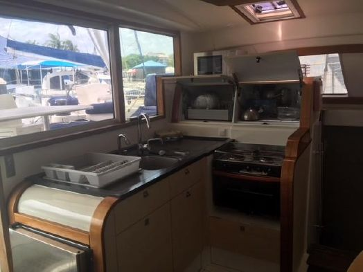 Used Sail Catamaran for Sale 2011 Catana 47  Galley