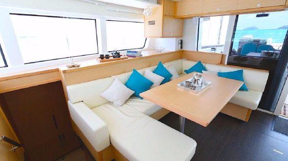 Used Sail Catamaran for Sale 2014 Lagoon 52 Layout & Accommodations
