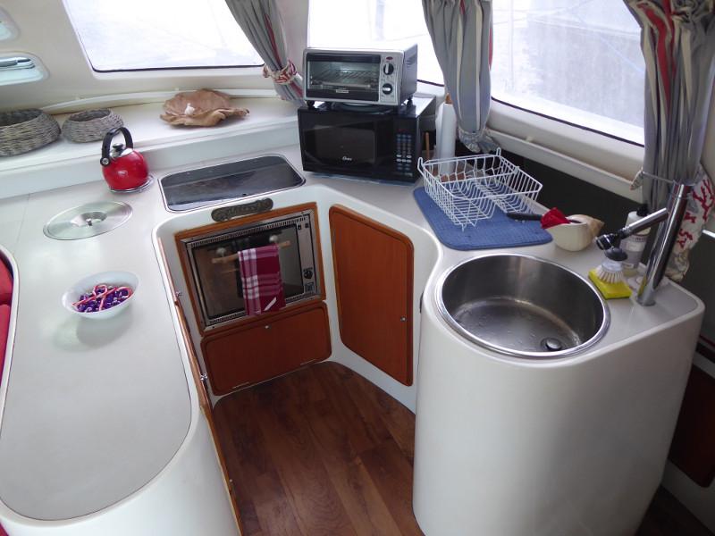 Used Sail Catamaran for Sale 2009 Jaguar 38 Galley