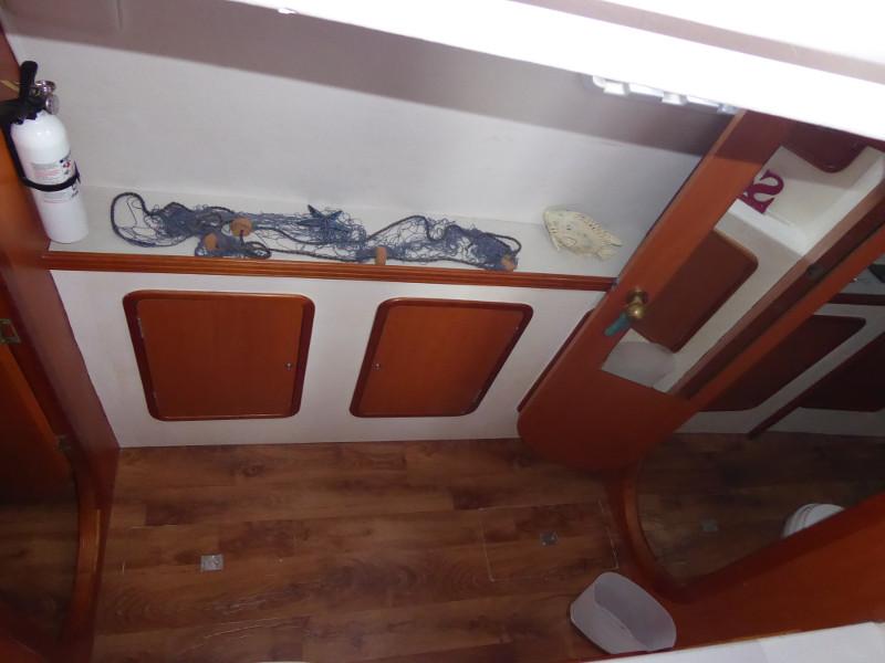 Used Sail Catamaran for Sale 2009 Jaguar 38 Layout & Accommodations