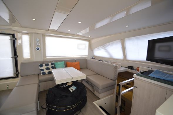 Preowned Sail Catamarans for Sale 2015 Leopard 48 Layout & Accommodations