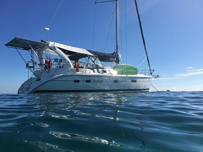 Preowned Sail Catamarans for Sale 1998 Hunter 410