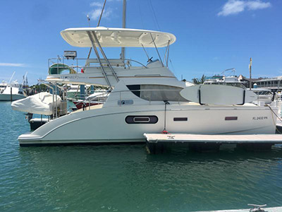 Preowned Power Catamarans for Sale 2009 Leopard 37 PC