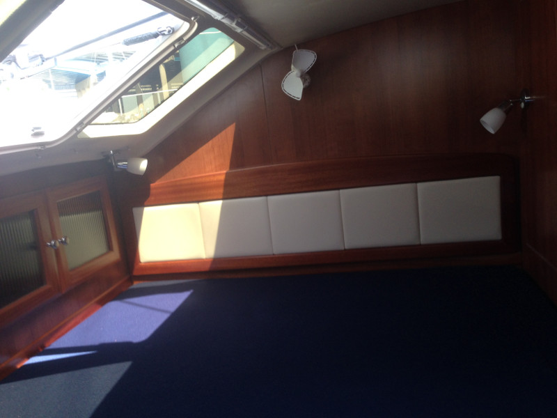 Used Sail Catamarans for Sale 2014 Legacy 35 Layout & Accommodations