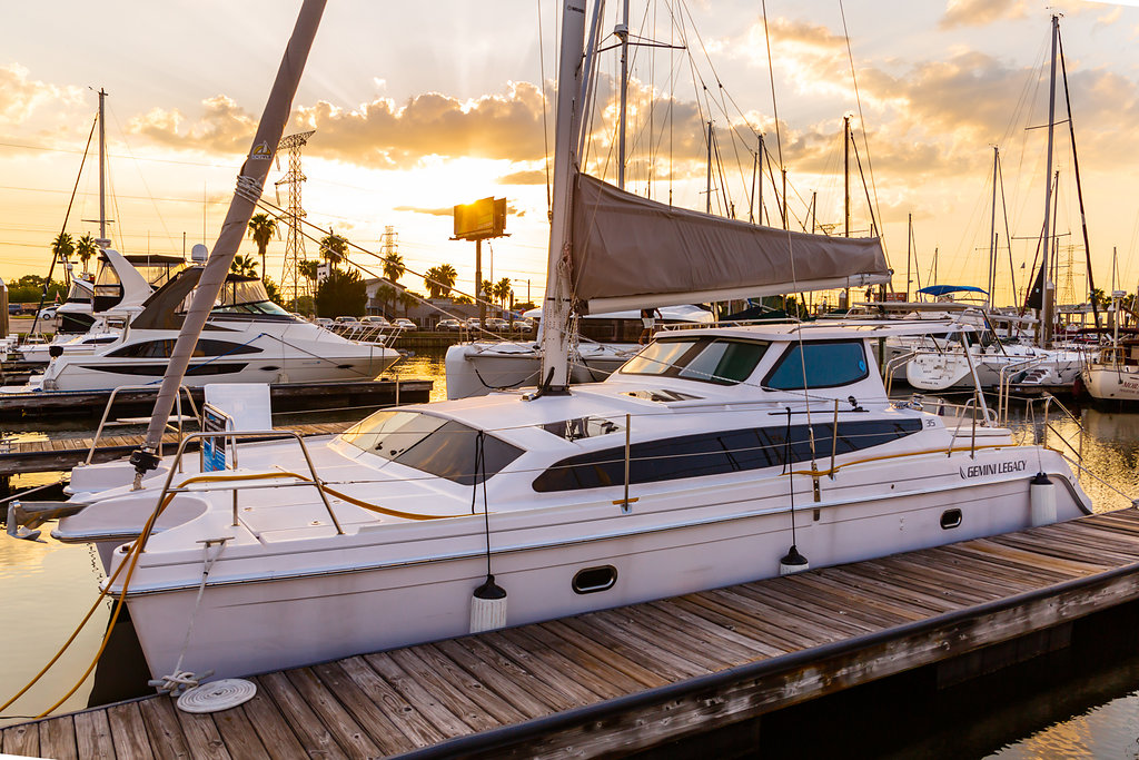 Used Sail Catamarans for Sale 2017 Legacy 35 Boat Highlights