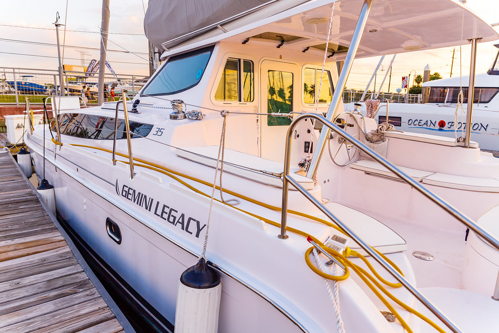 Used Sail Catamarans for Sale 2017 Legacy 35