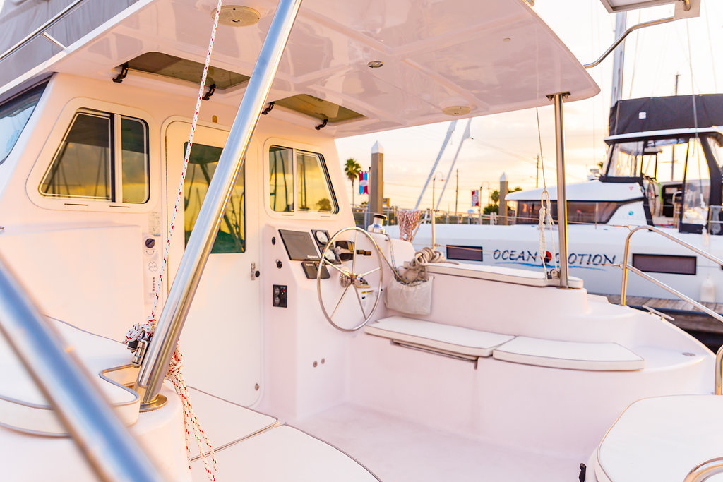 Used Sail Catamaran for Sale 2017 Legacy 35 Electronics & Navigation