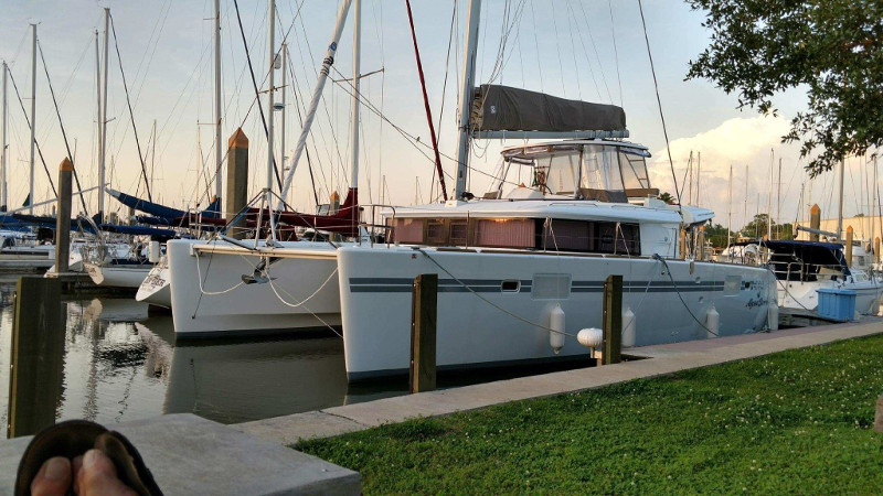 Preowned Sail Catamarans for Sale 2017 Lagoon 450 Boat Highlights