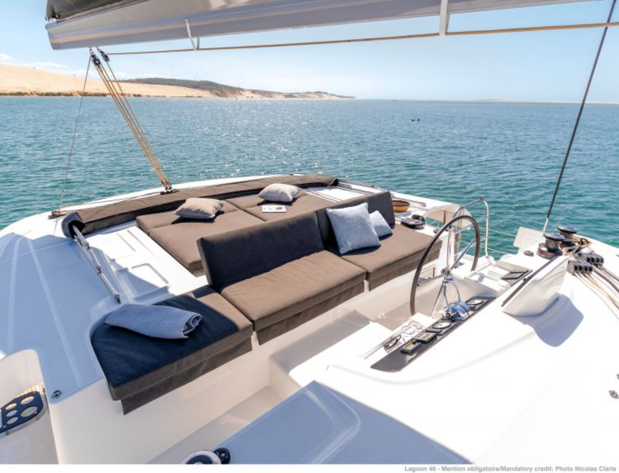 New Sail Catamaran for Sale 2020 Lagoon 46 Deck & Equipment