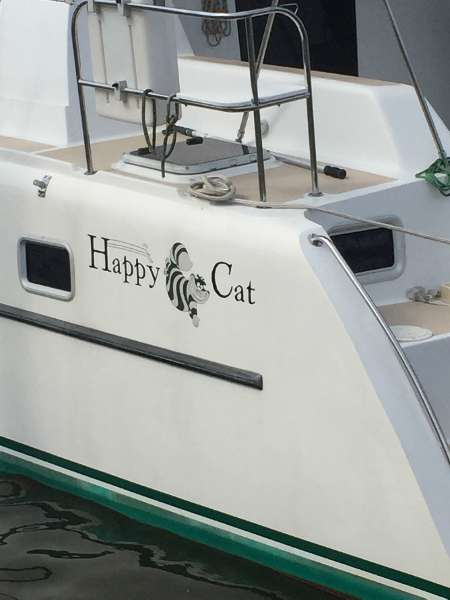 Preowned Sail Catamarans for Sale 2001 Victory 35 Boat Highlights