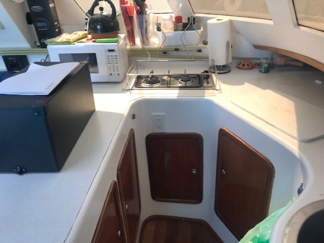 Used Sail Catamarans for Sale 2004 Wildcat 35 MK III Galley
