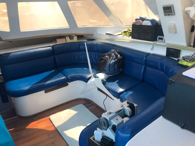 Used Sail Catamaran for Sale 2004 Wildcat 35 MK III Layout & Accommodations