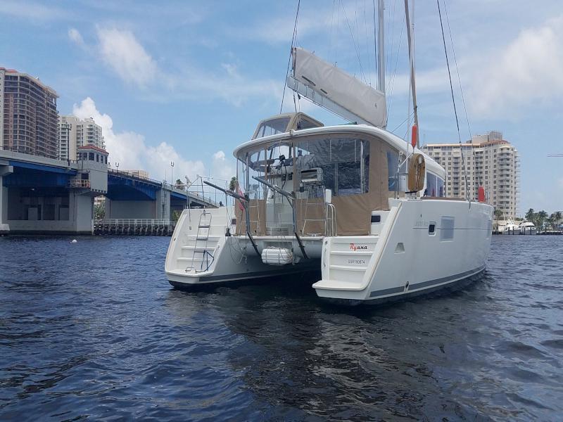 Used Sail Catamaran for Sale 2012 Lagoon 400 Additional Information