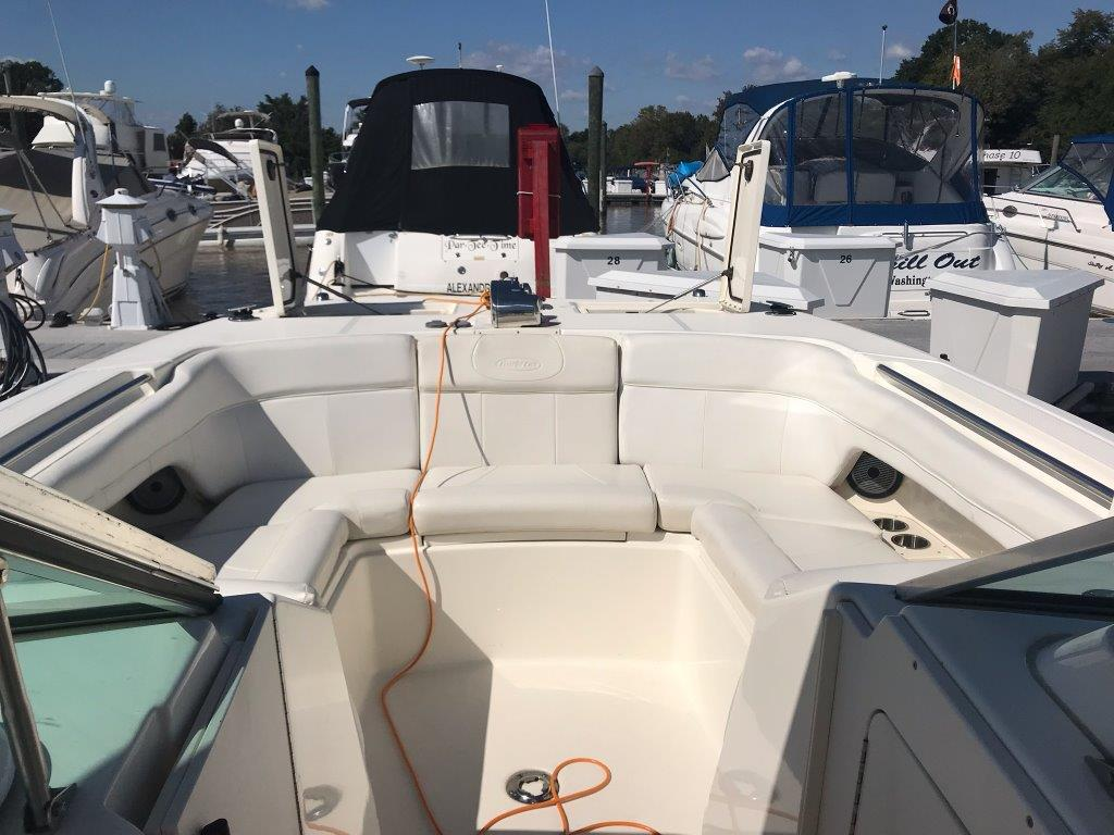 Used Power Catamaran for Sale 2011 290DC Deck & Equipment