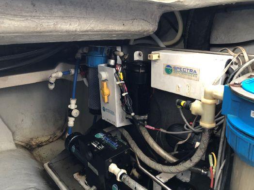 Used Power Catamaran for Sale 2013 Aquila 38 Electrical, Power & Plumbing