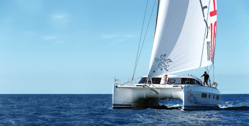 New Sail Catamaran for Sale  Nautitech 54 Boat Highlights