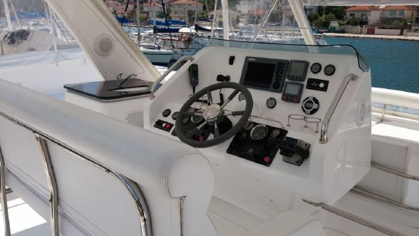 Used Power Catamarans for Sale  Leopard 47 PC  Electronics & Navigation