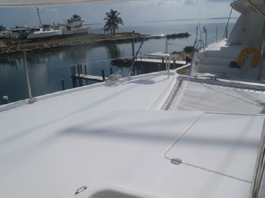 Used Sail Catamarans for Sale 2013 Leopard 44 Deck & Equipment