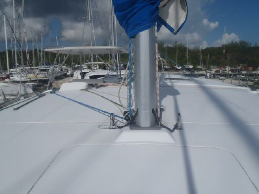 Used Sail Catamarans for Sale 2013 Leopard 44 Sails & Rigging