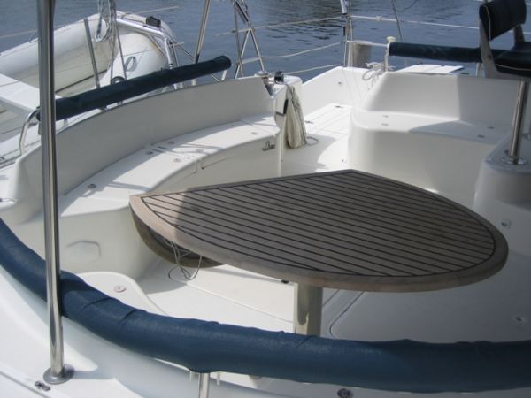 Used Sail Catamaran for Sale 2001 Privilege 435 EZ Deck & Equipment