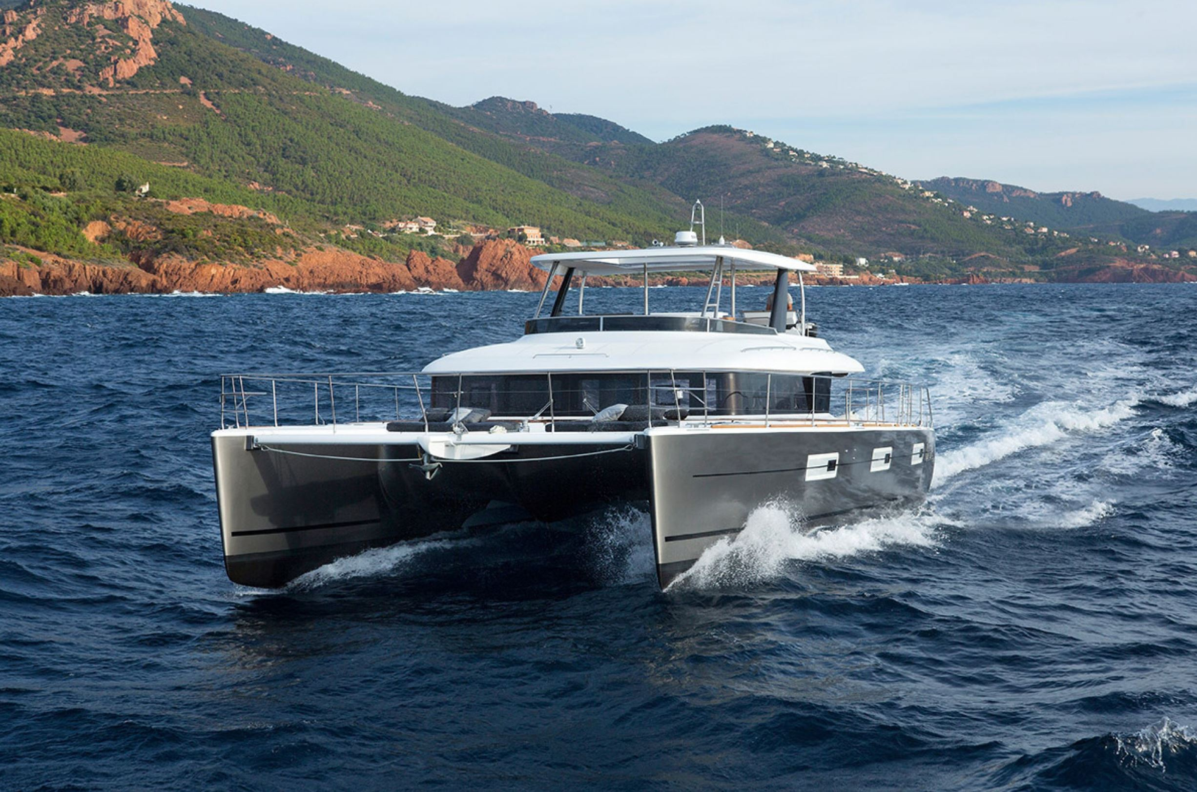 New Power Catamarans for Sale 2019 Lagoon 630MY Boat Highlights