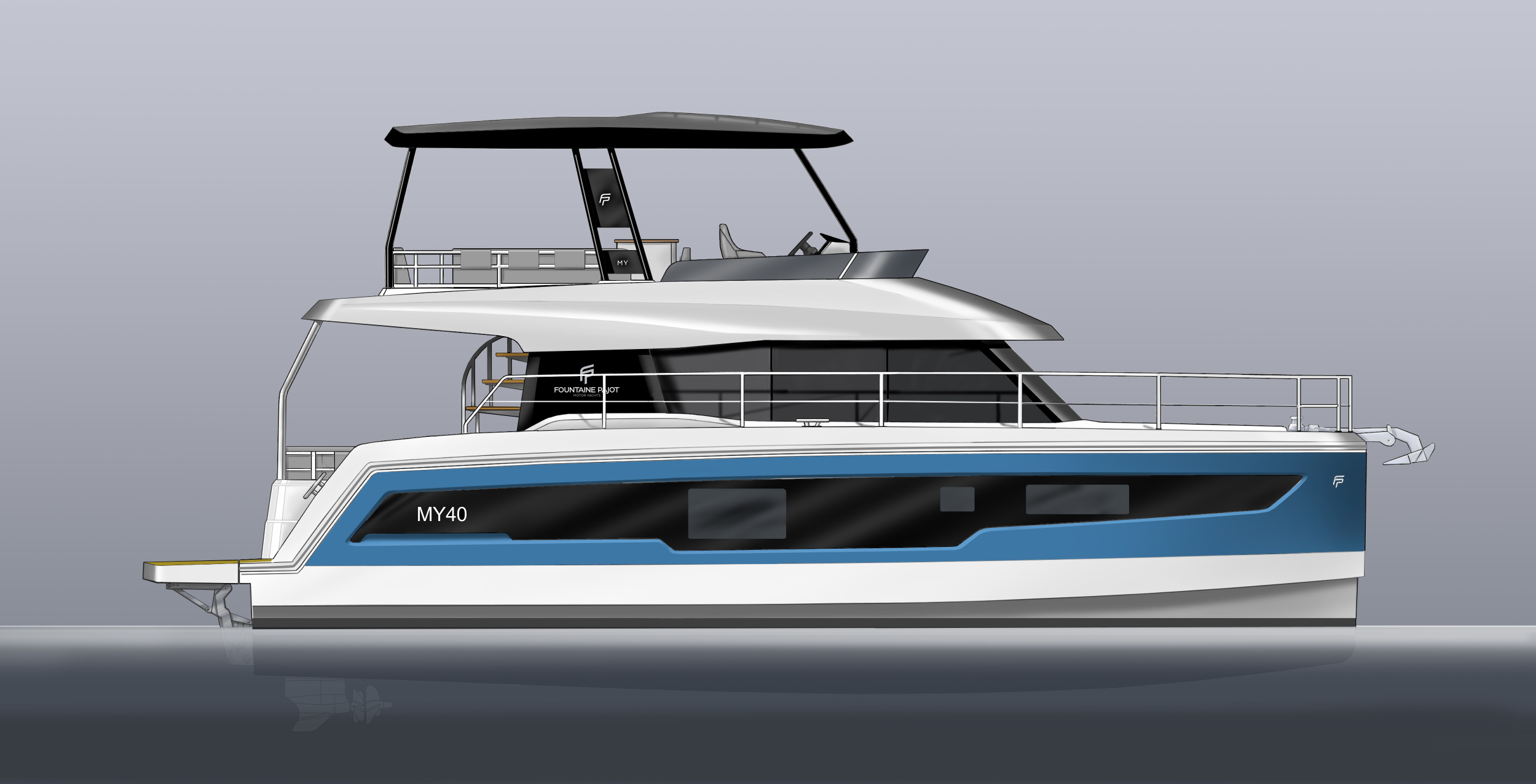 New Power Catamarans for Sale 2021 MY 40 Boat Highlights