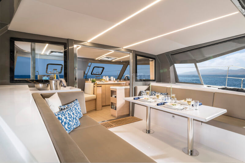 New Sail Catamaran for Sale 2019 Nautitech 40 Open Deck & Equipment