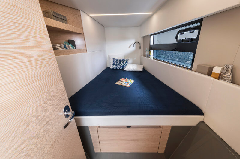 New Sail Catamaran for Sale 2019 Nautitech 40 Open Layout & Accommodations