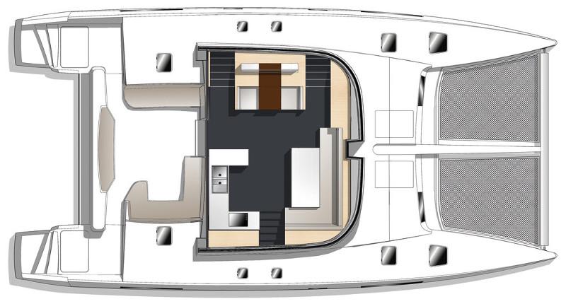 New Sail Catamaran for Sale  Nautitech 542 Additional Information