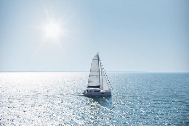 New Sail Catamaran for Sale  Nautitech 542 Boat Highlights