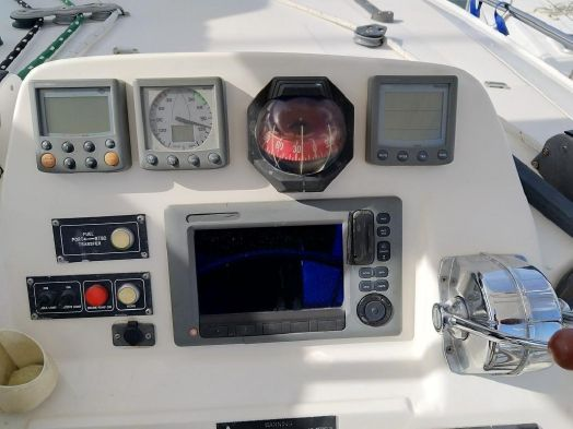 Used Sail Catamaran for Sale 2012 Leopard 44 Electronics & Navigation