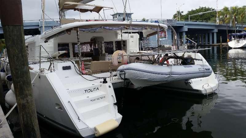 Preowned Sail Catamarans for Sale 2012 Lagoon 450 Boat Highlights
