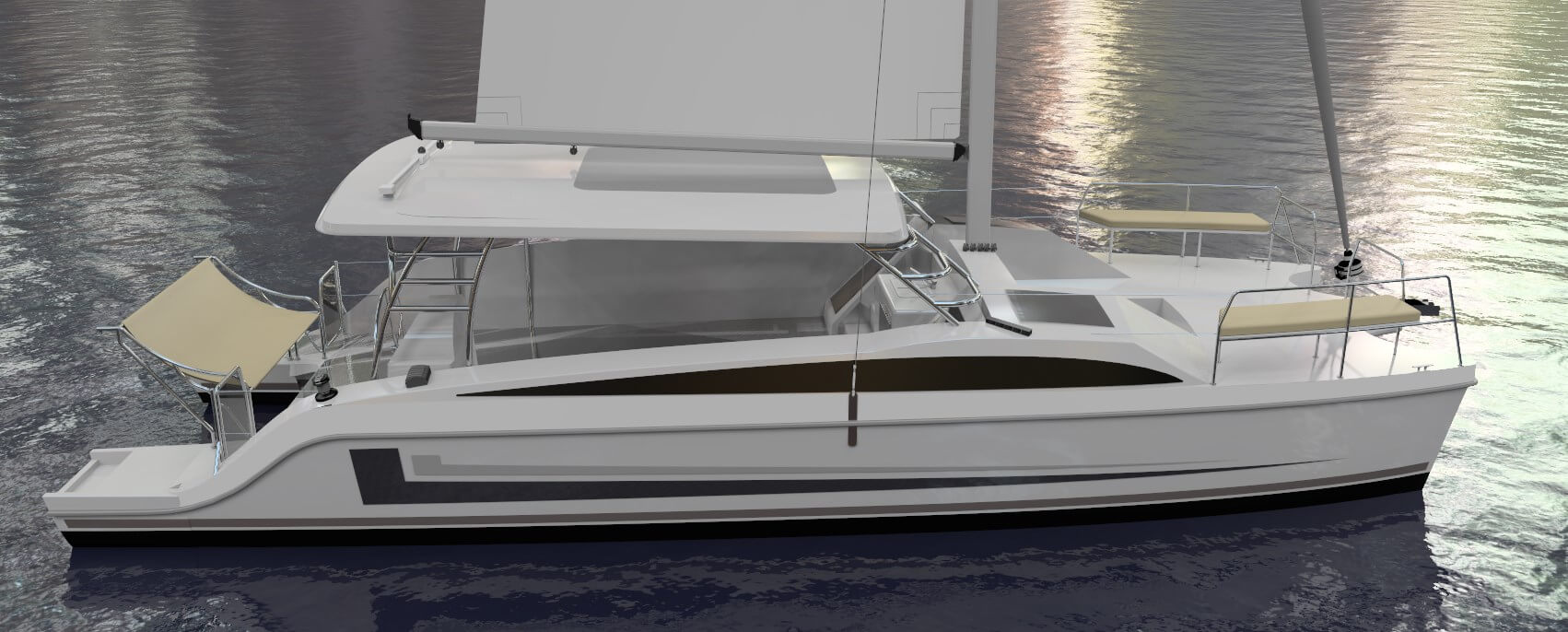 New Sail Catamarans for Sale  Freestyle 37 Boat Highlights