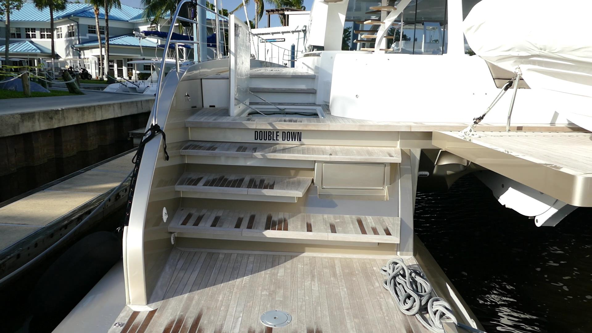 Catamarans DOUBLE DOWN, Manufacturer: LAGOON, Model Year: 2018, Length: 78ft, Model: Seventy 8, Condition: Used, Listing Status: Catamaran for Sale, Price: EUR 4595000
