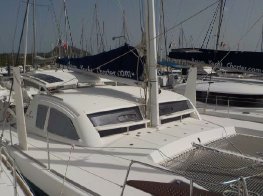 Preowned Sail Catamarans for Sale 2012 42 Deck & Equipment