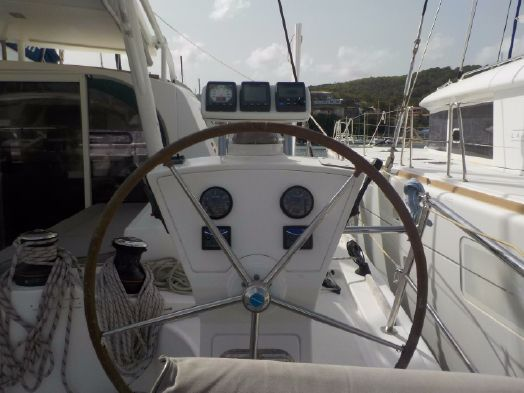 Preowned Sail Catamarans for Sale 2012 42 Electronics & Navigation