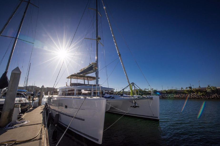 Used Sail Catamarans for Sale 2015 Lagoon 450 Boat Highlights