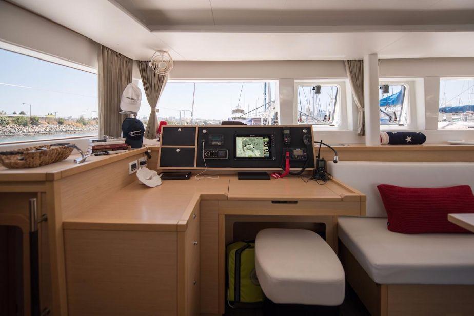 Used Sail Catamarans for Sale 2015 Lagoon 450 Electronics & Navigation