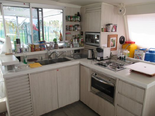 Used Sail Catamaran for Sale 2015 Leopard 48 Galley