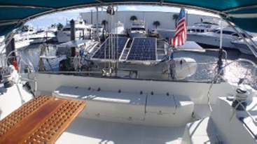 Preowned Sail Catamarans for Sale 1995 Privilege 42 Deck & Equipment
