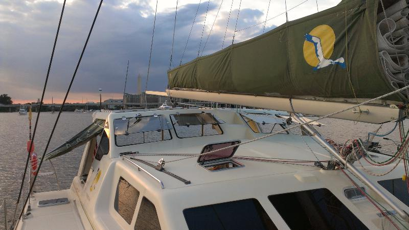 Preowned Sail Catamarans for Sale 2009 St. Francis 50 Sails & Rigging