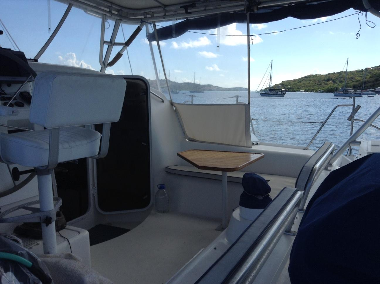 Used Sail Catamaran for Sale 1997 Manta 40 Deck & Equipment