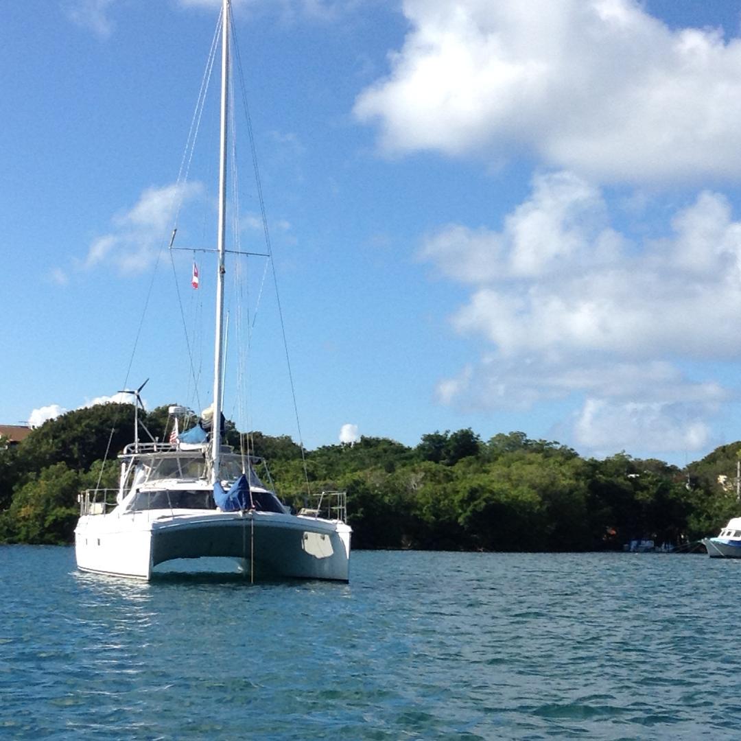 Used Sail Catamaran for Sale 1997 Manta 40 Boat Highlights